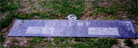 CRUMP, ERMAN - Columbia County, Arkansas | ERMAN CRUMP - Arkansas Gravestone Photos
