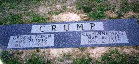 CRUMP, GEORGE ELDON - Columbia County, Arkansas | GEORGE ELDON CRUMP - Arkansas Gravestone Photos