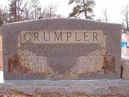 CRUMPLER, CHARLIE T - Columbia County, Arkansas | CHARLIE T CRUMPLER - Arkansas Gravestone Photos