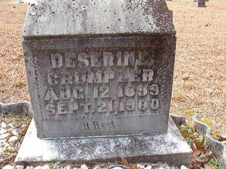 CRUMPLER, DESERINE - Columbia County, Arkansas | DESERINE CRUMPLER - Arkansas Gravestone Photos