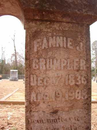 CRUMPLER, FANNIE J - Columbia County, Arkansas | FANNIE J CRUMPLER - Arkansas Gravestone Photos
