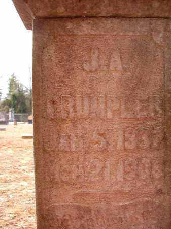 CRUMPLER, J A - Columbia County, Arkansas | J A CRUMPLER - Arkansas Gravestone Photos