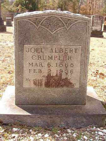 CRUMPLER, JOEL ALBERT - Columbia County, Arkansas | JOEL ALBERT CRUMPLER - Arkansas Gravestone Photos