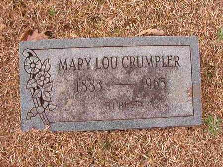 CRUMPLER, MARY LOU - Columbia County, Arkansas | MARY LOU CRUMPLER - Arkansas Gravestone Photos
