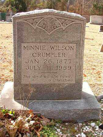 WILSON CRUMPLER, MINNIE - Columbia County, Arkansas | MINNIE WILSON CRUMPLER - Arkansas Gravestone Photos