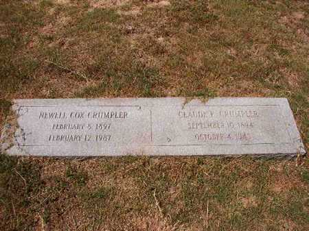 COX CRUMPLER, NEWELL - Columbia County, Arkansas | NEWELL COX CRUMPLER - Arkansas Gravestone Photos