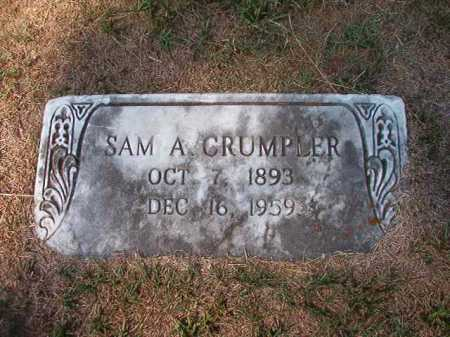 CRUMPLER, SAM A - Columbia County, Arkansas | SAM A CRUMPLER - Arkansas Gravestone Photos