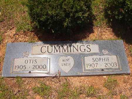CUMMINGS, OTIS - Columbia County, Arkansas | OTIS CUMMINGS - Arkansas Gravestone Photos