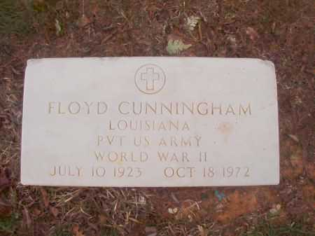 CUNNINGHAM (VETERAN WWII), FLOYD - Columbia County, Arkansas | FLOYD CUNNINGHAM (VETERAN WWII) - Arkansas Gravestone Photos