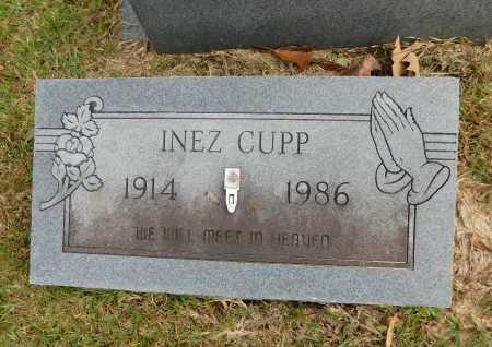 CUPP, INEZ - Columbia County, Arkansas | INEZ CUPP - Arkansas Gravestone Photos