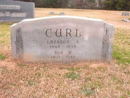CURL, LAZARUS L - Columbia County, Arkansas | LAZARUS L CURL - Arkansas Gravestone Photos