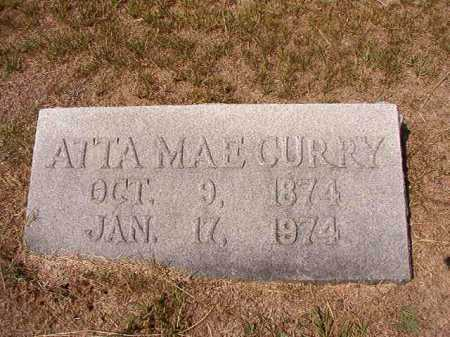 CURRY, ATTA MAE - Columbia County, Arkansas | ATTA MAE CURRY - Arkansas Gravestone Photos