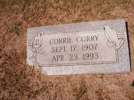 CURRY, CORRIE - Columbia County, Arkansas | CORRIE CURRY - Arkansas Gravestone Photos