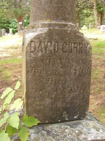CURRY, DAVID - Columbia County, Arkansas | DAVID CURRY - Arkansas Gravestone Photos