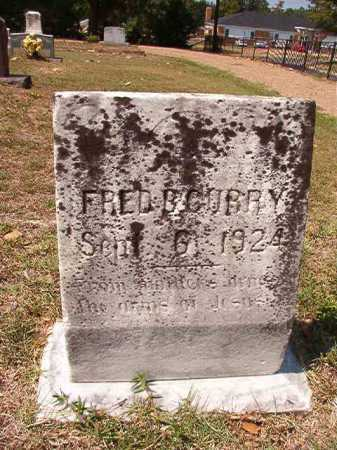 CURRY, FRED B - Columbia County, Arkansas | FRED B CURRY - Arkansas Gravestone Photos