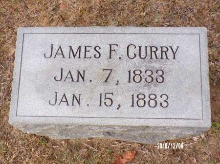 CURRY, JAMES F - Columbia County, Arkansas | JAMES F CURRY - Arkansas Gravestone Photos