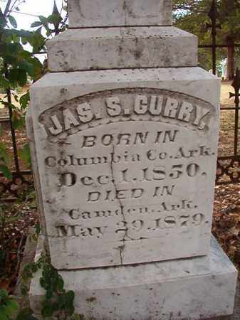 CURRY, JAMES S - Columbia County, Arkansas | JAMES S CURRY - Arkansas Gravestone Photos
