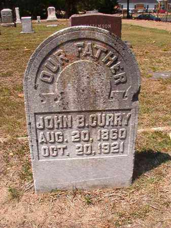 CURRY, JOHN B - Columbia County, Arkansas | JOHN B CURRY - Arkansas Gravestone Photos