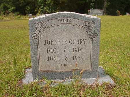 CURRY, JOHNNIE - Columbia County, Arkansas | JOHNNIE CURRY - Arkansas Gravestone Photos
