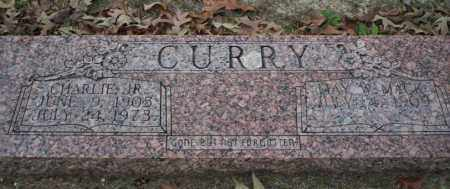 CURRY JR., CHARLIE - Columbia County, Arkansas | CHARLIE CURRY JR. - Arkansas Gravestone Photos