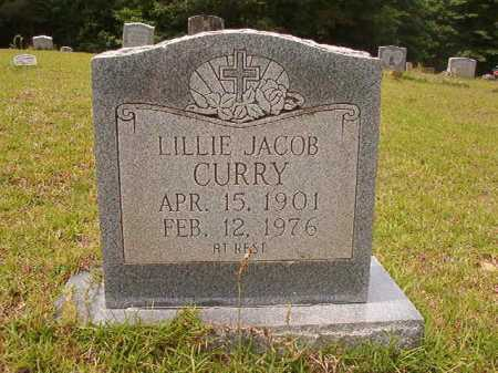 JACOB CURRY, LILLIE - Columbia County, Arkansas | LILLIE JACOB CURRY - Arkansas Gravestone Photos
