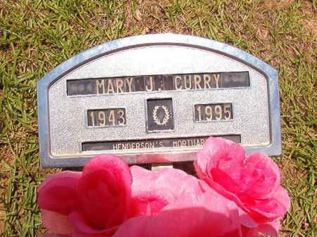 CURRY, MARY J - Columbia County, Arkansas | MARY J CURRY - Arkansas Gravestone Photos