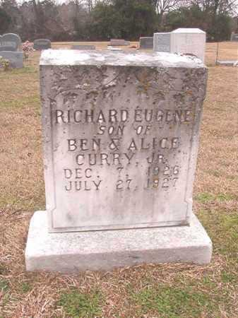 CURRY, RICHARD EUGENE - Columbia County, Arkansas | RICHARD EUGENE CURRY - Arkansas Gravestone Photos