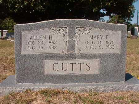 CUTTS, ALLEN H - Columbia County, Arkansas | ALLEN H CUTTS - Arkansas Gravestone Photos