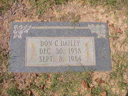 DAILEY, DON C - Columbia County, Arkansas | DON C DAILEY - Arkansas Gravestone Photos