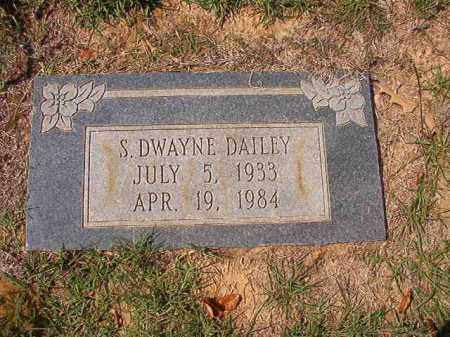 DAILEY, S DWAYNE - Columbia County, Arkansas | S DWAYNE DAILEY - Arkansas Gravestone Photos