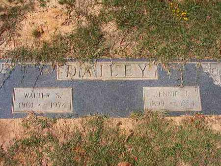 DAILEY, WALTER S - Columbia County, Arkansas | WALTER S DAILEY - Arkansas Gravestone Photos