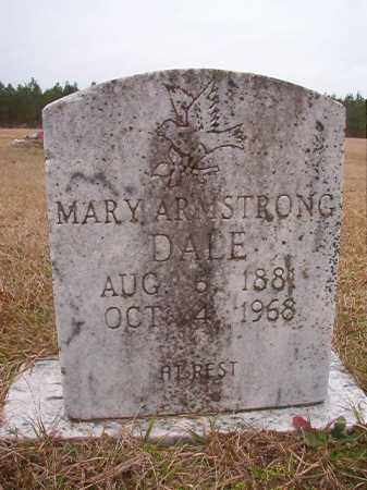 ARMSTRONG DALE, MARY - Columbia County, Arkansas | MARY ARMSTRONG DALE - Arkansas Gravestone Photos