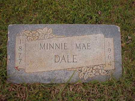 DALE, MINNIE MAE - Columbia County, Arkansas | MINNIE MAE DALE - Arkansas Gravestone Photos