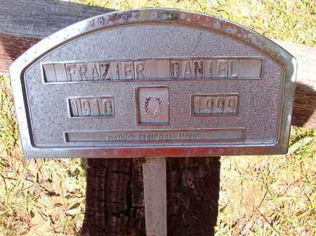 DANIEL, FRAZIER - Columbia County, Arkansas | FRAZIER DANIEL - Arkansas Gravestone Photos