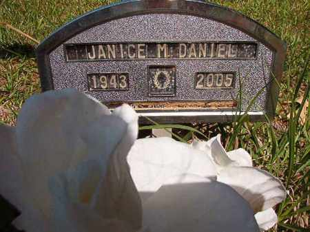 DANIEL, JANICE M - Columbia County, Arkansas | JANICE M DANIEL - Arkansas Gravestone Photos