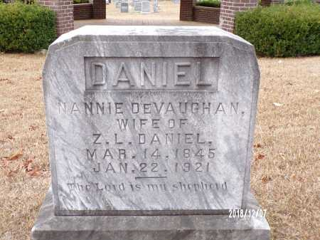 DANIEL, NANNIE - Columbia County, Arkansas | NANNIE DANIEL - Arkansas Gravestone Photos