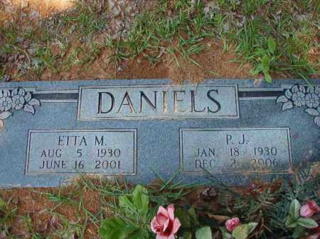 DANIELS, ETTA M - Columbia County, Arkansas | ETTA M DANIELS - Arkansas Gravestone Photos