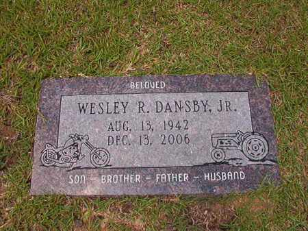 DANSBY, JR, WESLEY R - Columbia County, Arkansas | WESLEY R DANSBY, JR - Arkansas Gravestone Photos
