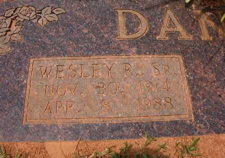 DANSBY, SR, WESLEY R - Columbia County, Arkansas | WESLEY R DANSBY, SR - Arkansas Gravestone Photos