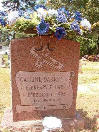 DARRETT, CALLINE - Columbia County, Arkansas | CALLINE DARRETT - Arkansas Gravestone Photos