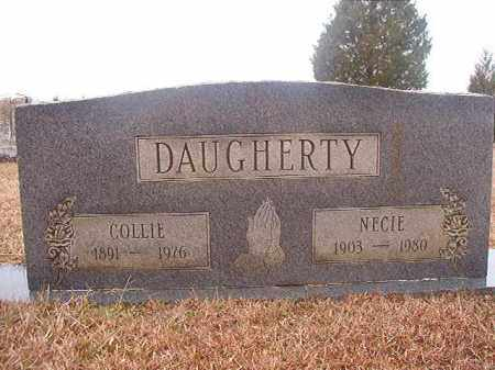 DAUGHERTY, NECIE - Columbia County, Arkansas | NECIE DAUGHERTY - Arkansas Gravestone Photos