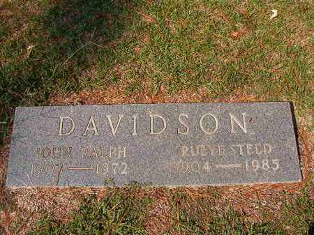 STEED DAVIDSON, RUBYE - Columbia County, Arkansas | RUBYE STEED DAVIDSON - Arkansas Gravestone Photos