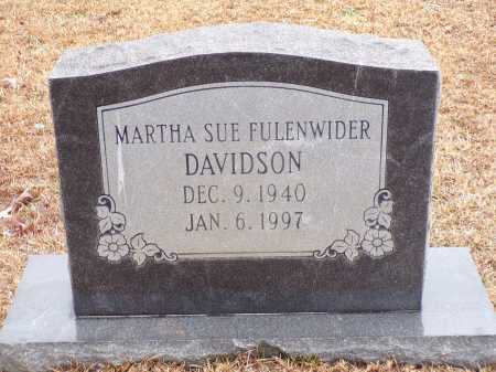 DAVIDSON, MARTHA SUE - Columbia County, Arkansas | MARTHA SUE DAVIDSON - Arkansas Gravestone Photos