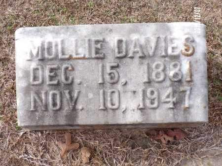 DAVIES, MOLLIE - Columbia County, Arkansas | MOLLIE DAVIES - Arkansas Gravestone Photos