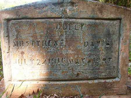 DAVIS, DOLLY - Columbia County, Arkansas | DOLLY DAVIS - Arkansas Gravestone Photos
