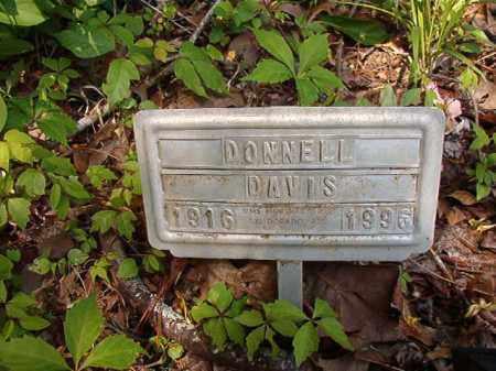 DAVIS, DONNELL - Columbia County, Arkansas | DONNELL DAVIS - Arkansas Gravestone Photos