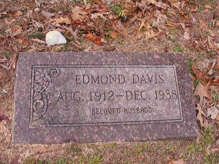 DAVIS, EDMOND - Columbia County, Arkansas | EDMOND DAVIS - Arkansas Gravestone Photos