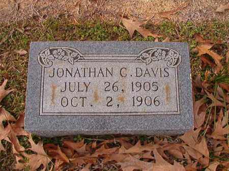 DAVIS, JONATHAN C - Columbia County, Arkansas | JONATHAN C DAVIS - Arkansas Gravestone Photos