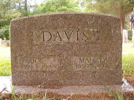 DAVIS, JOE - Columbia County, Arkansas | JOE DAVIS - Arkansas Gravestone Photos