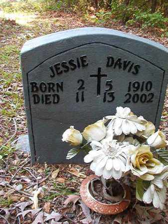 DAVIS, JESSIE - Columbia County, Arkansas | JESSIE DAVIS - Arkansas Gravestone Photos